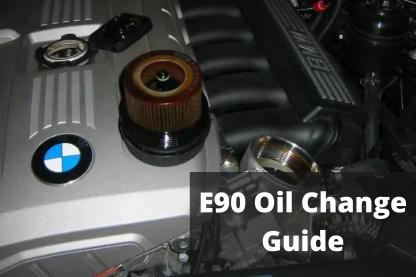 E90 Oil Change Guide