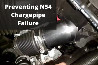 Preventing N54 Chargepipe Failure