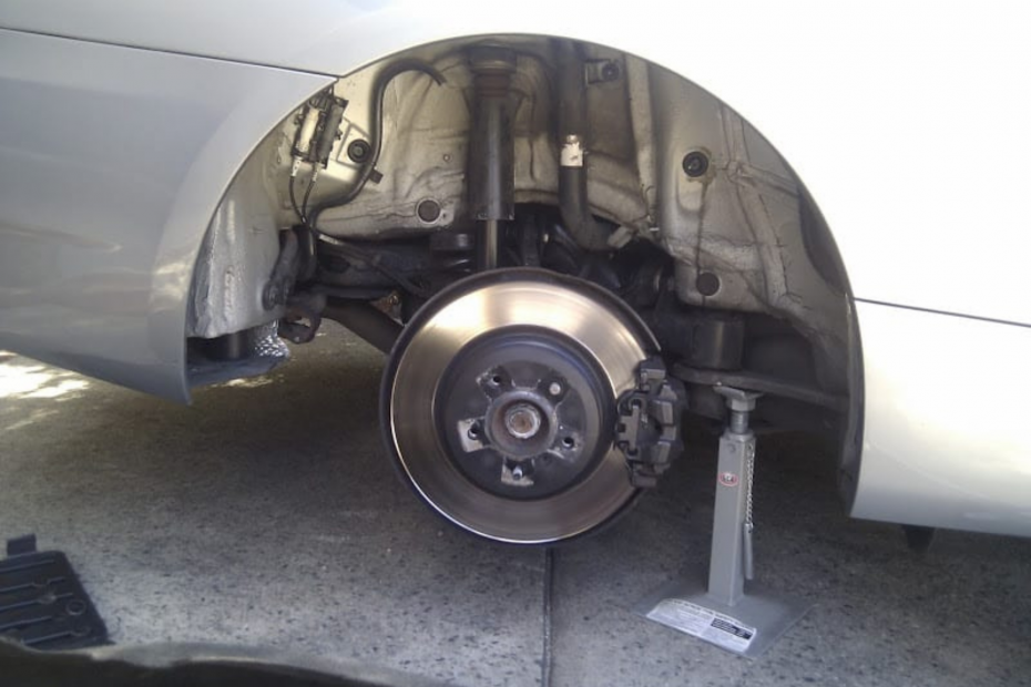 E90 Brake Pad Sensor Replacement