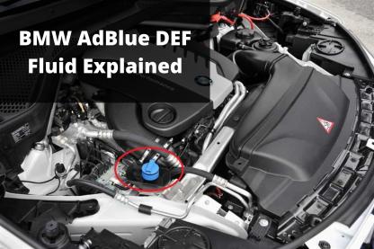 BMW AdBlue DEF Fluid