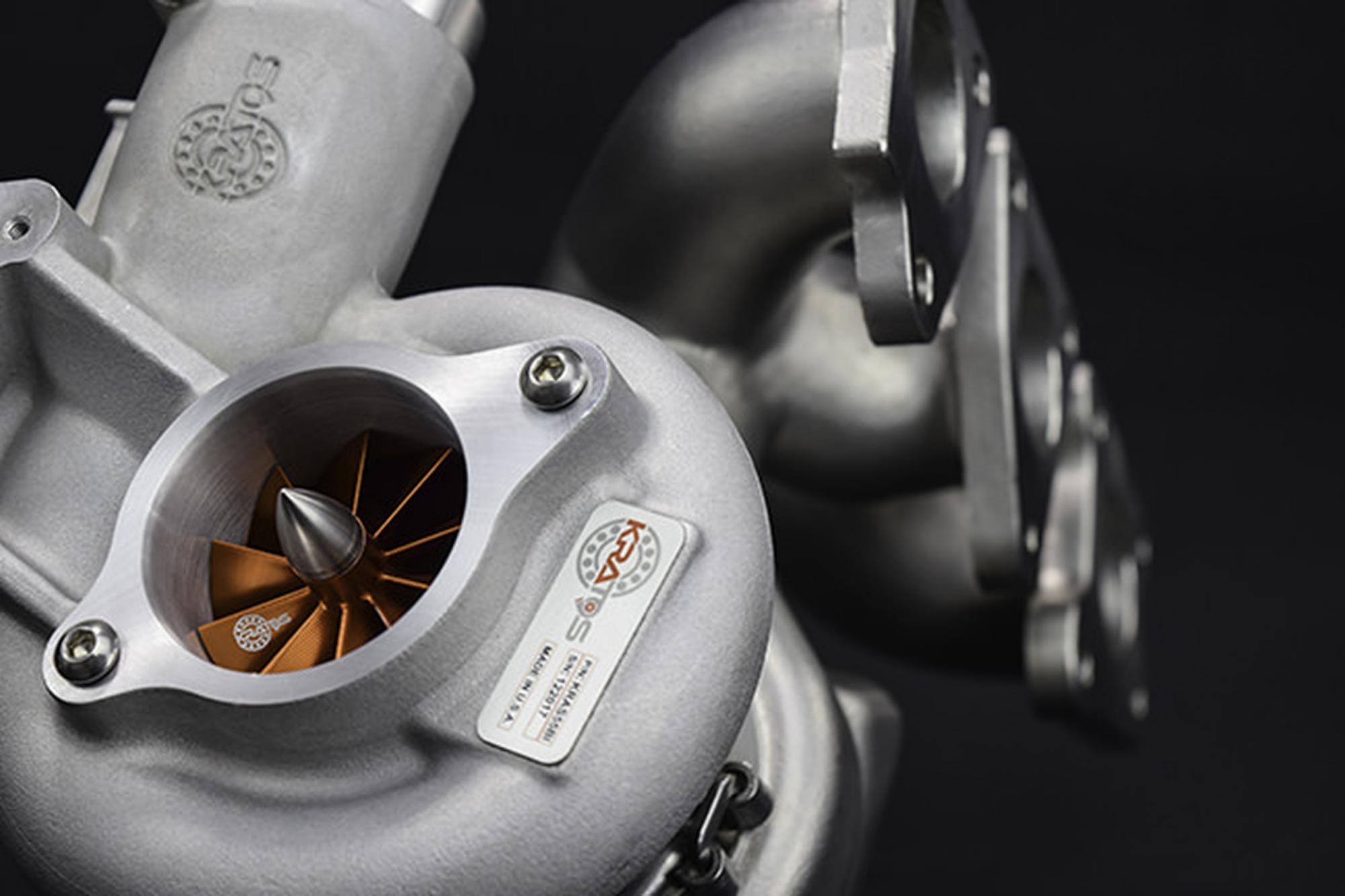 S55 Kratos Upgraded Twin Turbos