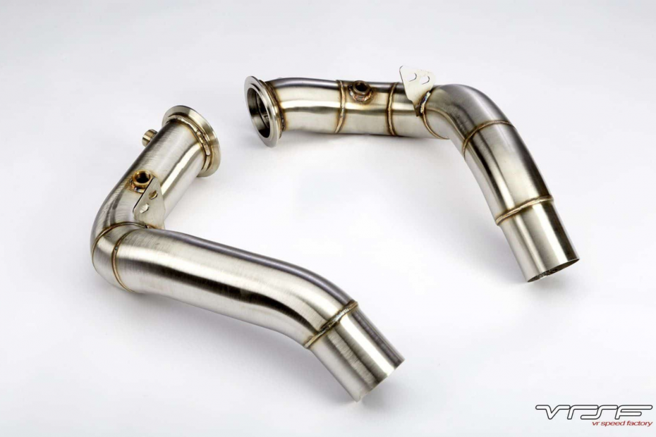 VRSF S63 Catless Downpipes