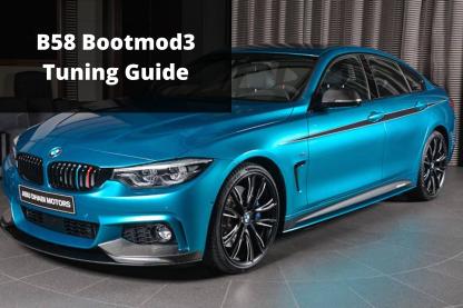 B58 Bootmod3 Tuning Guide