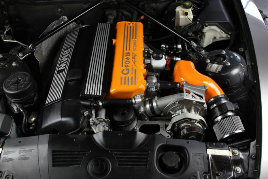 Modded M54 Engine