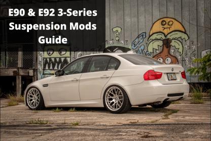 E90 E92 Suspension Mods