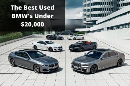Best Used BMW's Under $20,000