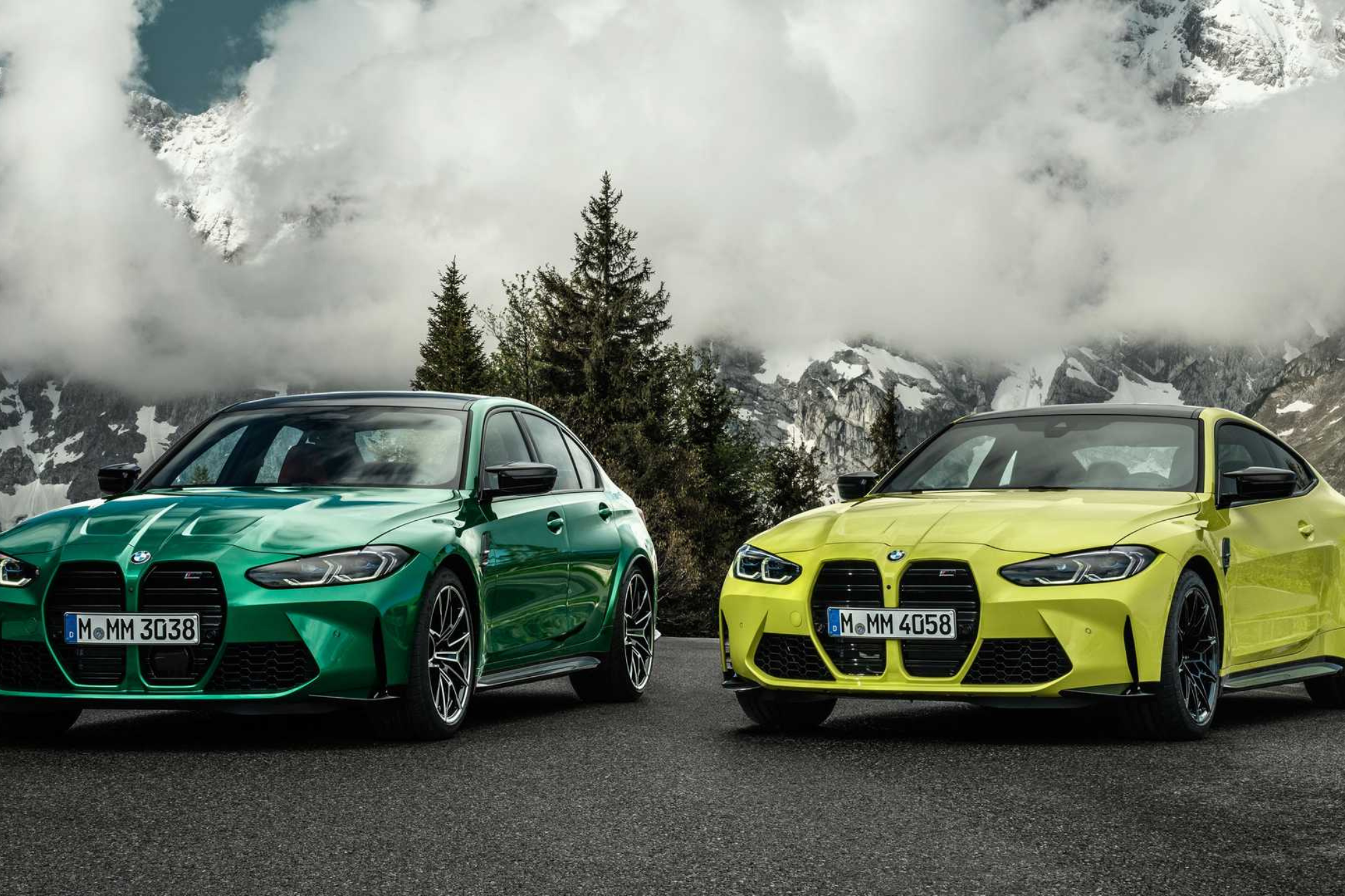 BMW M3 vs M4 - Handling, Performance, Weight